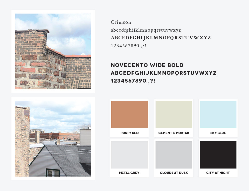 Waltzing Mechanics Font and Color Palette